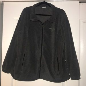 Columbia Charcoal Fleece Jacket